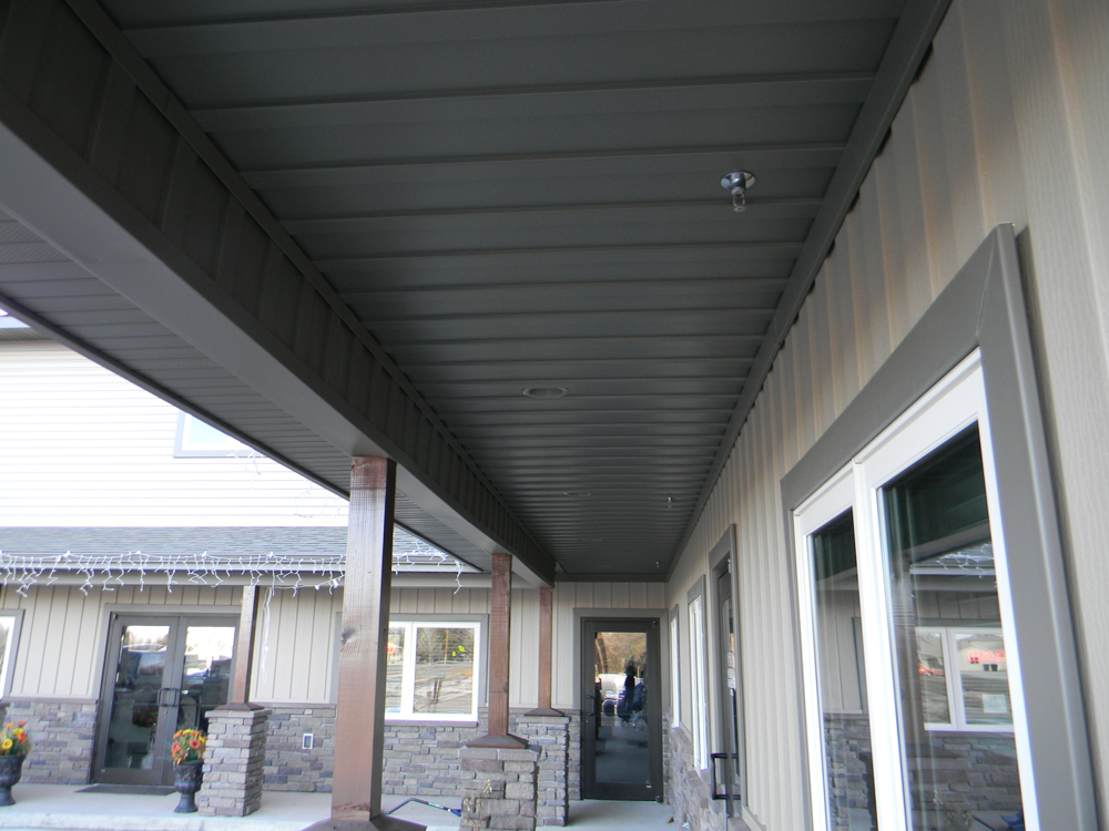 Beam Wrap Porch Ceiling Samples Wyoseamlesssidinggutter Com